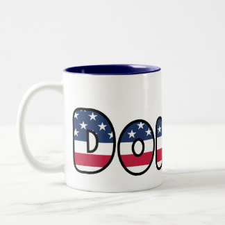 Donald Trump Support USA President 2016 Two-Tone Coffee Mug