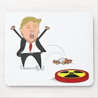 Donald Trump Tantrum - Mouse Mat