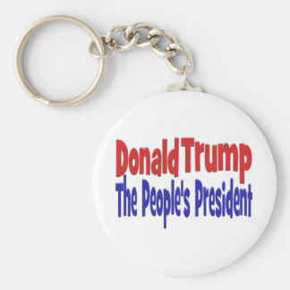 Donald Trump The People's President Keychain
