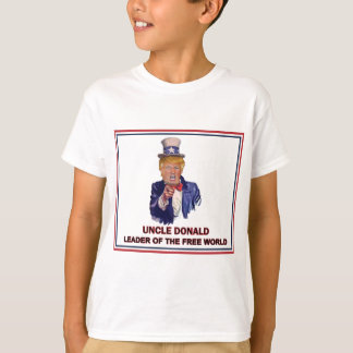 Donald Trump / Uncle Sam Leader of the free world! T-Shirt