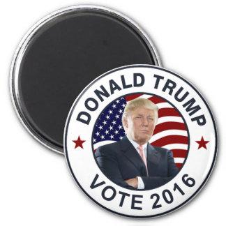 Donald Trump US Flag 2 Inch Round Magnet