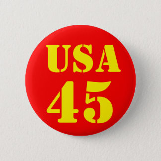 Donald Trump USA 45 2 Inch Round Button
