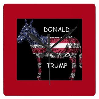 Donald Trump - What a Donkey Clock