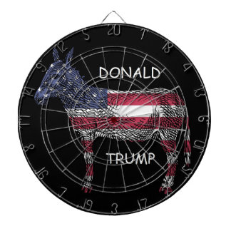 Donald Trump - What a Donkey! Dartboard