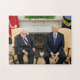 Donald Trump With Henry Kissinger Jigsaw Puzzle
