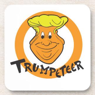 Donald Trumpeteer Caricature Coaster
