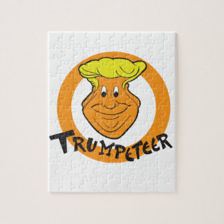 Donald Trumpeteer Caricature Jigsaw Puzzle