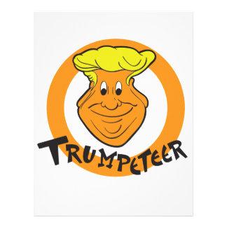 Donald Trumpeteer Caricature Letterhead