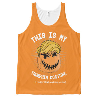 Donald Trumpkin Halloween Costume - I couldn't fin All-Over-Print Tank Top