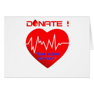 DONATE CARD
