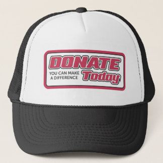 donate trucker hat