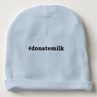 #donatemilk baby beanie