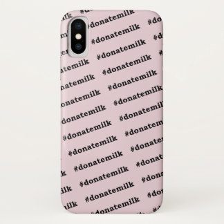 #donatemilk Case-Mate iPhone case