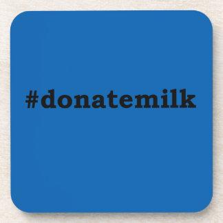 #donatemilk coaster