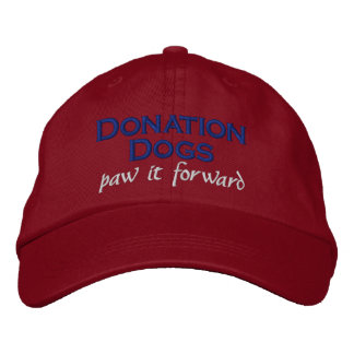 Donation Dogs (paw it forward) Hat Red