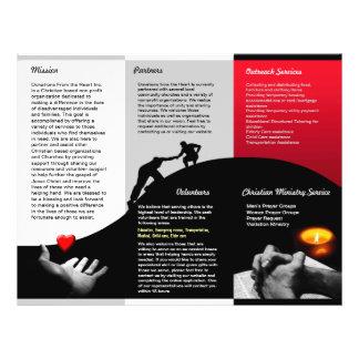 Donations Brochure Full Color Flyer