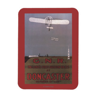 Doncaster, England - First Aviation Races Magnet