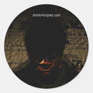 Dondo History Round Sticker
