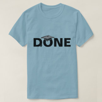 Done Grey Mortarboard T-Shirt