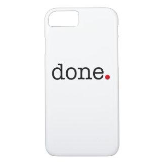 done iPhone 8/7 case