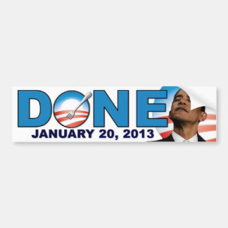 DONE - January 20 2013 - Anti Obama Bumper Sticker