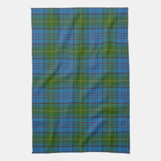 Donegal County Irish Tartan Kitchen Towel