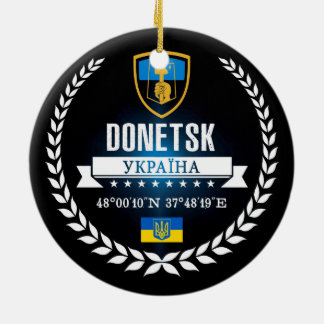 Donetsk Ceramic Ornament