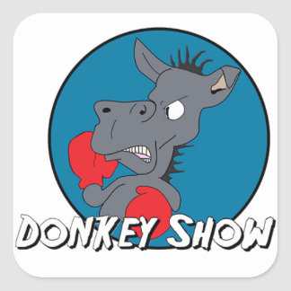 Donk Show Square Sticker New