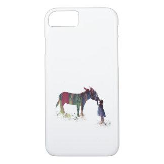 Donkey and child iPhone 8/7 case