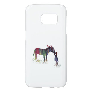 Donkey and child samsung galaxy s7 case