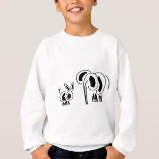 donkey and elephant friends sweatshirt