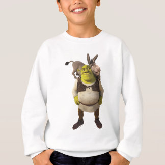 Donkey And Shrek Sweatshirt