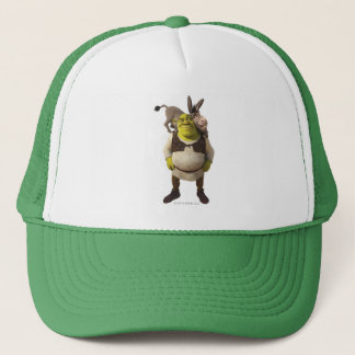 Donkey And Shrek Trucker Hat