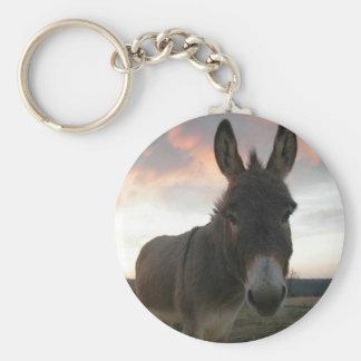 Donkey Art Keychain