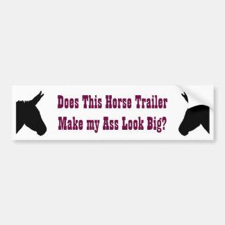 Donkey/Ass Bumper Sticker Car Bumper Sticker