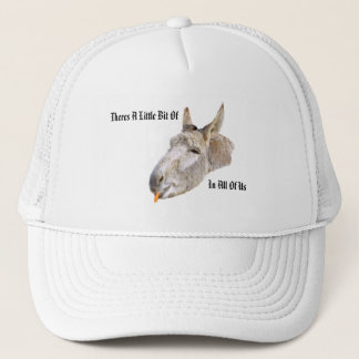Donkey Called Carrot, With Humour Logo, Trucker Hat