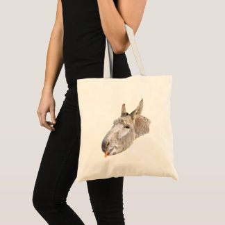 Donkey Called Carrots, Tote Bag