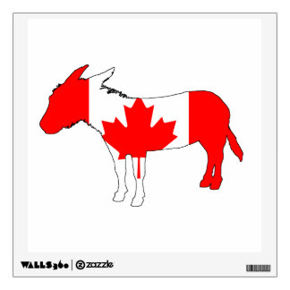 Donkey Canada Wall Decal