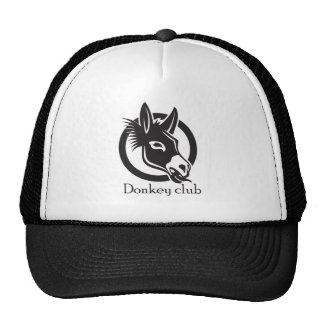 Donkey club trucker hat