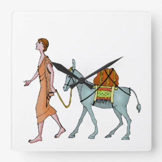 Donkey delivery clock