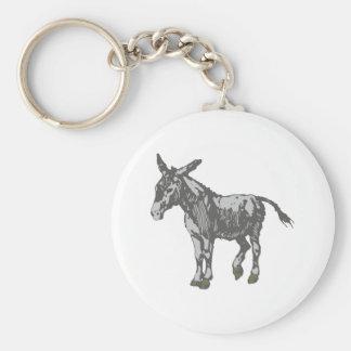 Donkey donkey keychain