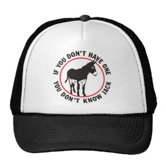 Donkey Dont Know Jack Trucker Hat