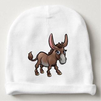 Donkey Farm Animals Cartoon Character Baby Beanie