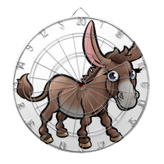 Donkey Farm Animals Cartoon Character Dartboard