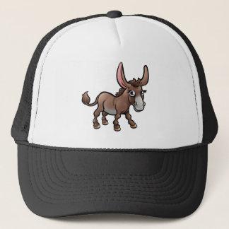 Donkey Farm Animals Cartoon Character Trucker Hat