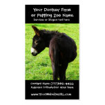 Donkey Farmer or Ranch Pack Of Standard Business Cards