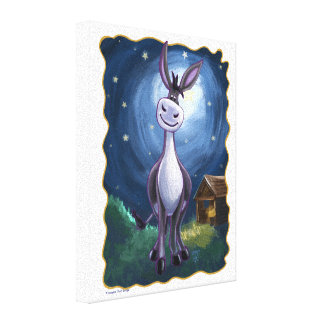 Donkey Gifts & Accessories Canvas Print