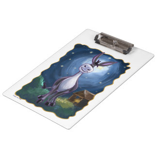 Donkey Gifts & Accessories Clipboard