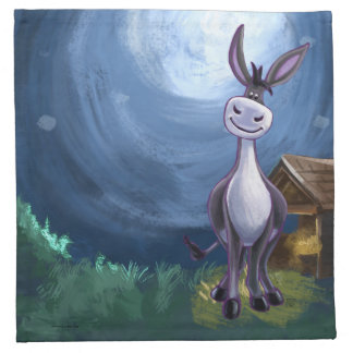 Donkey Gifts & Accessories Napkin