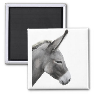 Donkey Head Profile Magnet